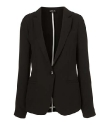 Topshop Fitted Unlined Blazer