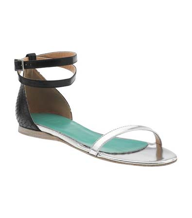 Tibi Amber Flat Sandal