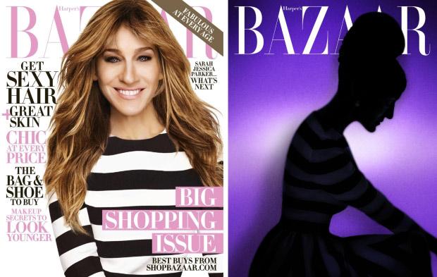 Harper's Bazaar October 2015: Sarah Jessica Parker by Alexi Lubomirski