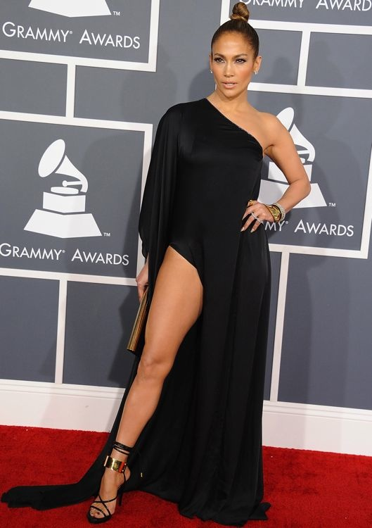 Jennifer Lopez at the 55th Annual Grammy Awards