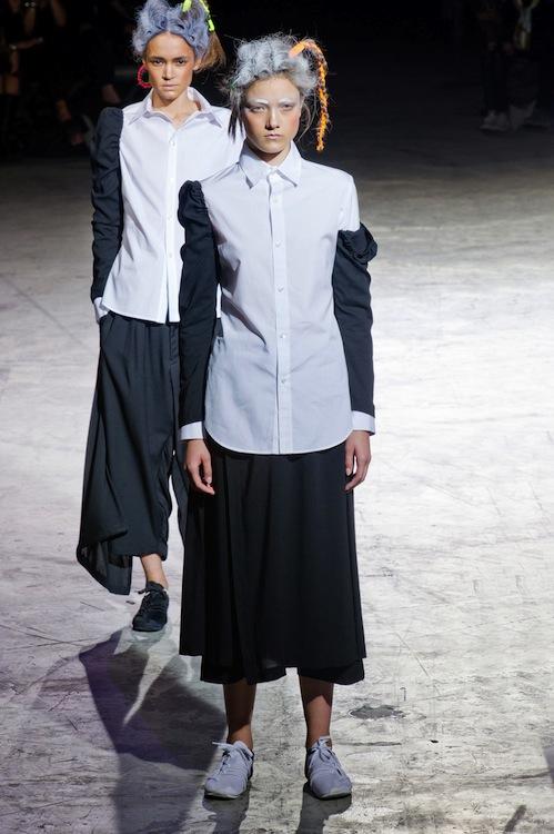 Yohji Yamamoto SS 2014