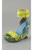 The Tribal-Print Shoe