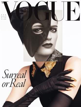 Vogue Italia Feb 2012 - Laura Kampman by Steven Meisel