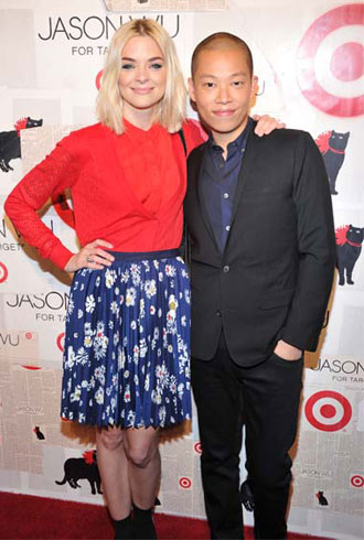 Jason Wu with Jaime King