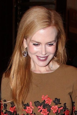 Nicole Kidman heading to Tods private dinner party Paris cropped