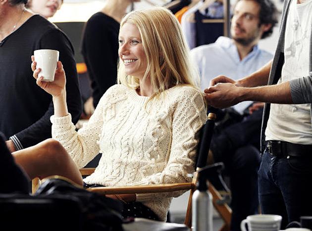 Gwyneth Paltrow Lindex shoot behind the scenes