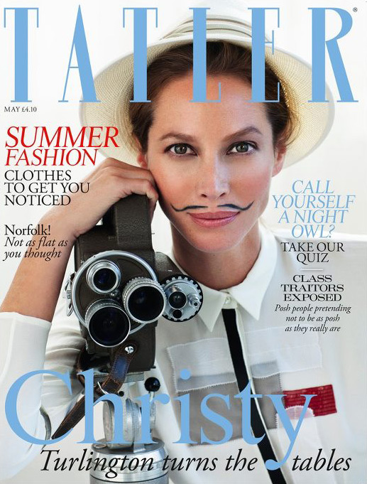 Christy Turlinton - Tatler May 2012