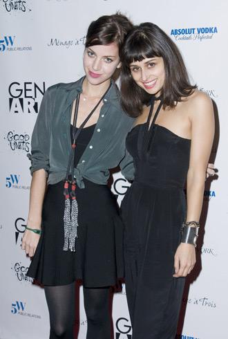 Vena Cava designer Sophie Buhai and Lisa Mayock