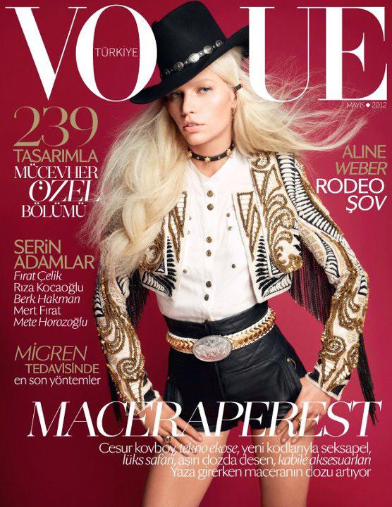 Vogue Turkey May 2012 - Aline Weber