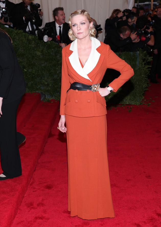 Kirsten Dunst - Met Gala 2012