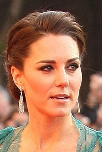 Catherine Duchess of Cambridge Our Great Team Rises London cropped