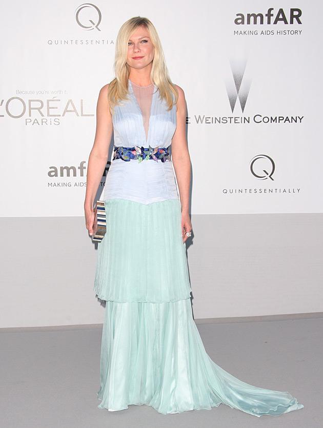 Kirsten Dunst 2012 amfAR gala