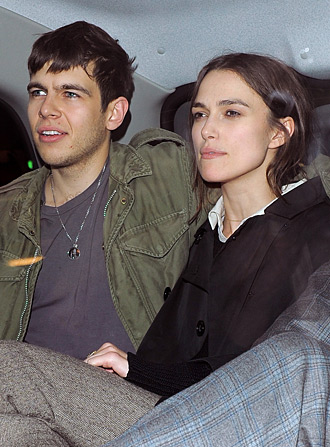 James Righton and Keira Knightley