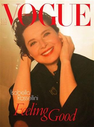Vogue Italia June 2012 - Isabella Rossellini by Steven Meisel
