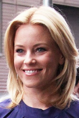 Elizabeth Banks outside ABC studios for Good Morning America New York City cropped