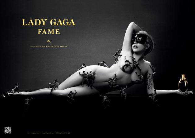 Lady Gaga Fame ad by Steven Klein