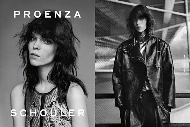 Proenza Schouler Fall 2012 - Meghan Collison by Alasdair McLellan