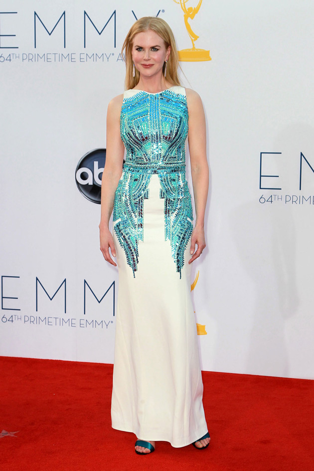 Nicole Kidman in Antonio Berardi Spring 2013 at the 2012 Emmy Awards