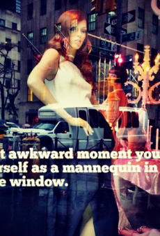 Coco Rocha Has That Awkward Moment When You See Yourself as a Mannequin and Other Celeb Twitpics of the Week