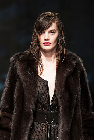 Amanda Murphy at Prada - Milan Fashion Week Fall 2013