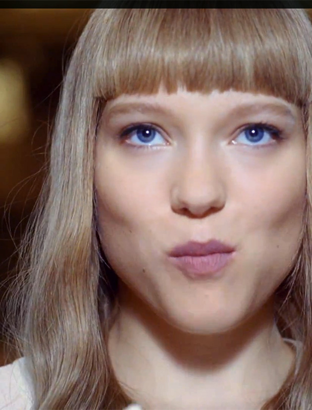 Léa Seydoux in Prada Candy