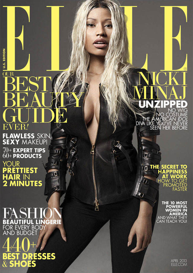 Elle April 2013 - Nicki Minaj