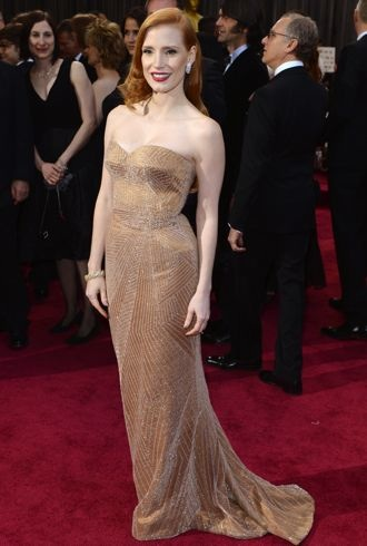 Jessica Chastain 2013 Oscars Los Angeles Feb 2013 cropped