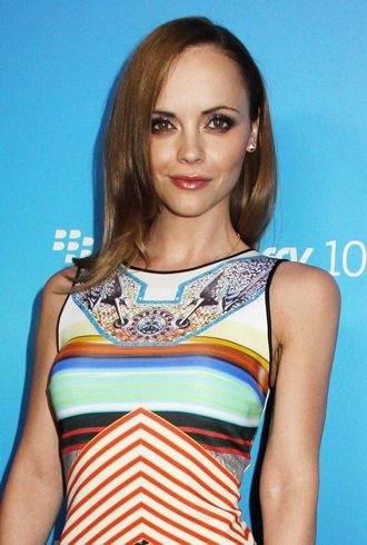 Christina Ricci The US launch of the new BlackBerry Z10 Los Angeles cropped