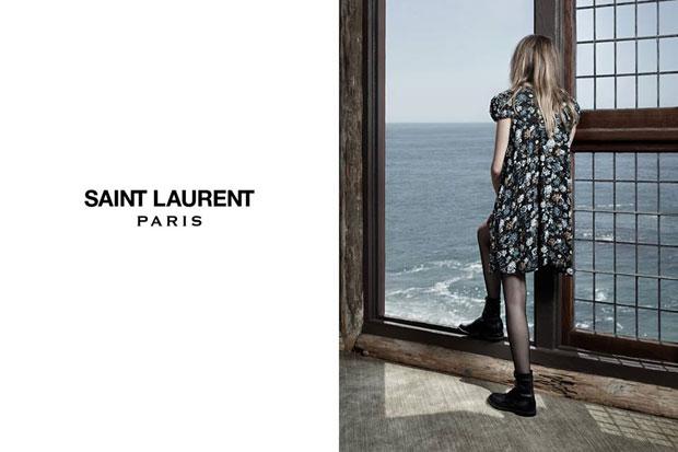 Anna Dello Russo Walks Her Dog Wearing Saint Laurent's $68,000 Baby-Doll Dress
