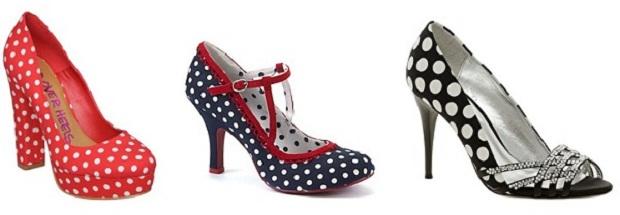 Spotty Heels
