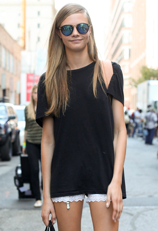 Models off duty: Cara Delevingne