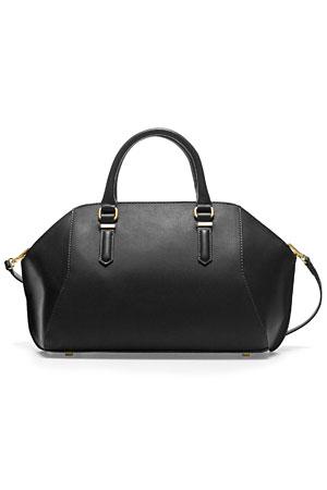 Zara-black-bowling-bag