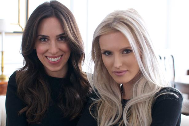 The Editorialist founders Stefania Palandjoglou Allen & Kate Davidson Hudson