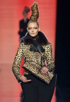 Jean Paul Gaultier Shows His Wild Side for Fall 2013 Haute Couture