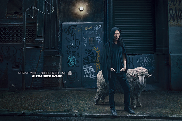 Image: Annie Leibovitz for Merino Wool