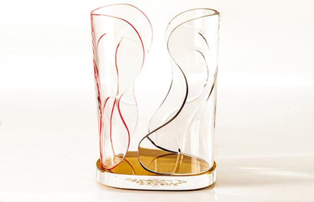 The CAFA award as designed by Karim Rashid,