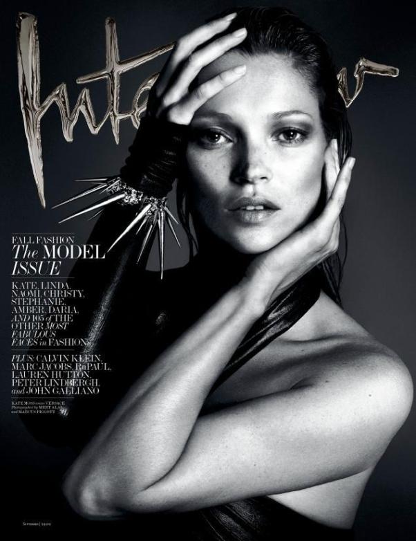 Kate Moss on Interview September 2013, ph: Mert & Marcus
