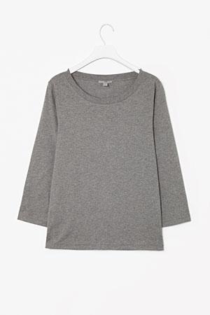 COS-3-quarter-sleeve-top