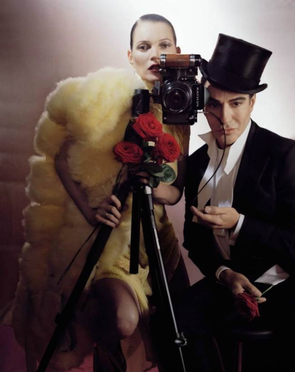 Kate Moss & John Galliano by Tim Walker for UK Vogue December 2013