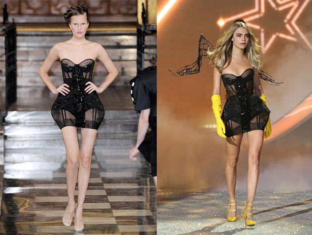 Image: Style.com (left) / WENN.com (right)