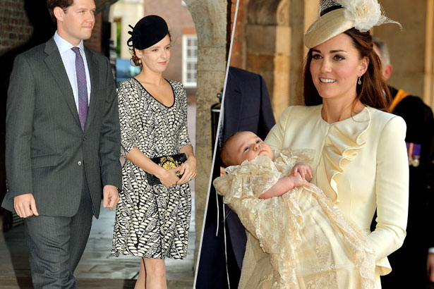 Jardine-Paterson is being credited with Middleton's stunning Alexander McQueen skirt and jacket for the Christening. images: Getty