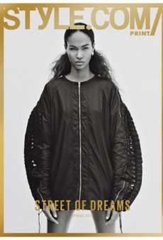 Joan Smalls Covers The Latest Issue Of Style.com (Forum Buzz)