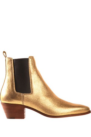 Saint-Laurent-gold-boots
