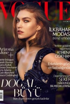 An Angry-looking Arizona Muse Covers Vogue Turkey (Forum Buzz)
