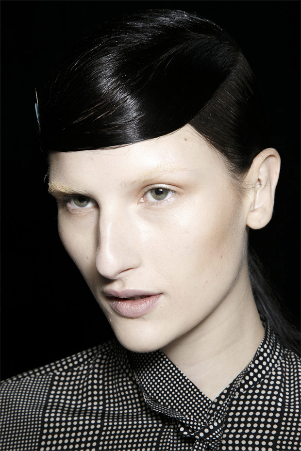 Katia Selinger backstage at Alexander Wang Fall 2014 / Image: IMAXtree