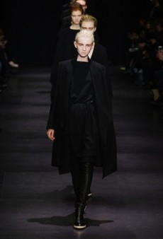 Ann Demeulemeester Delivers a Dark, Androgynous Fall 2014 Offering (Runway Review)