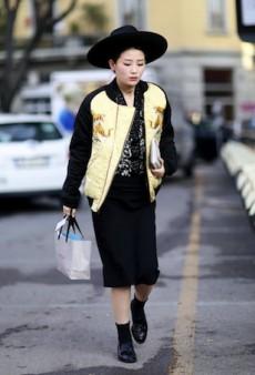 Milan Fashion Week Street Style: Making a Statement