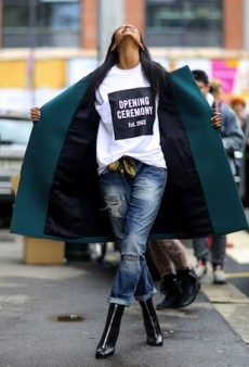 The Best Models Off Duty Snaps from Milan Fashion Week Fall 2014