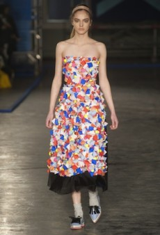 Roksanda Ilincic Pieces Together a Colorful Collection for Fall 2014 (Runway Review)