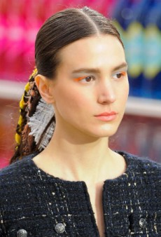 Beauty Report: The Ponytail to End All Ponies at Chanel